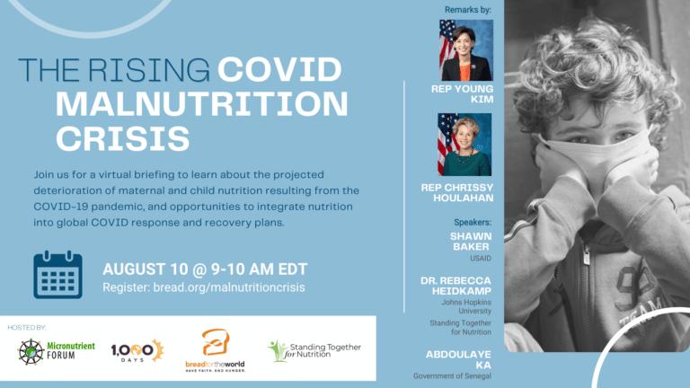 Hill Briefing: The Rising COVID-19 Malnutrition Crisis