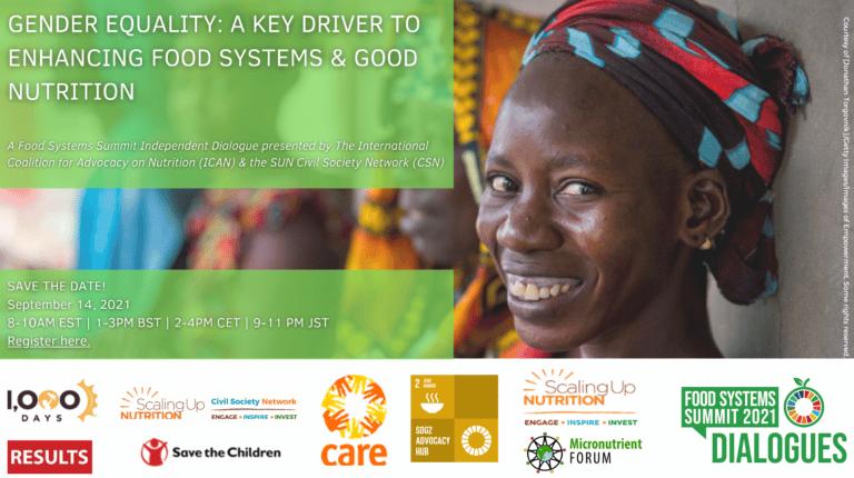 UNFSS Webinar on Gender Equality: 14 September